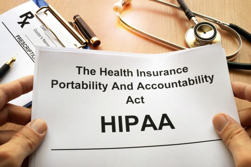 comply with HIPAA