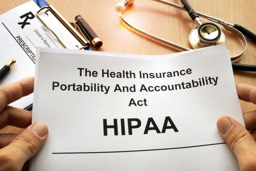 comply with HIPAA